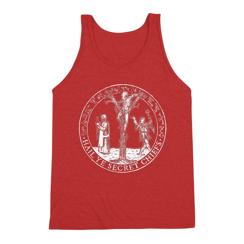 The Oracle Tree Men's Tank by The Corey Press