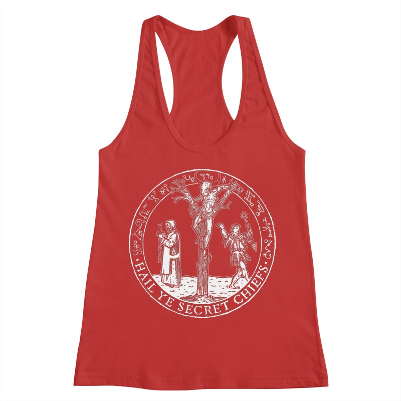 The Oracle Tree Women's Racerback Tank by The Corey Press