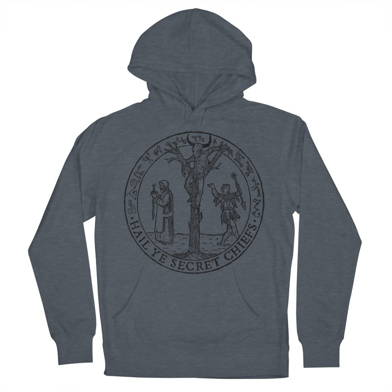 The Oracle Tree Men's French Terry Pullover Hoody by The Corey Press