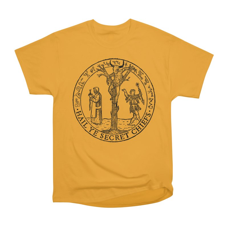 The Oracle Tree Men's Heavyweight T-Shirt by The Corey Press