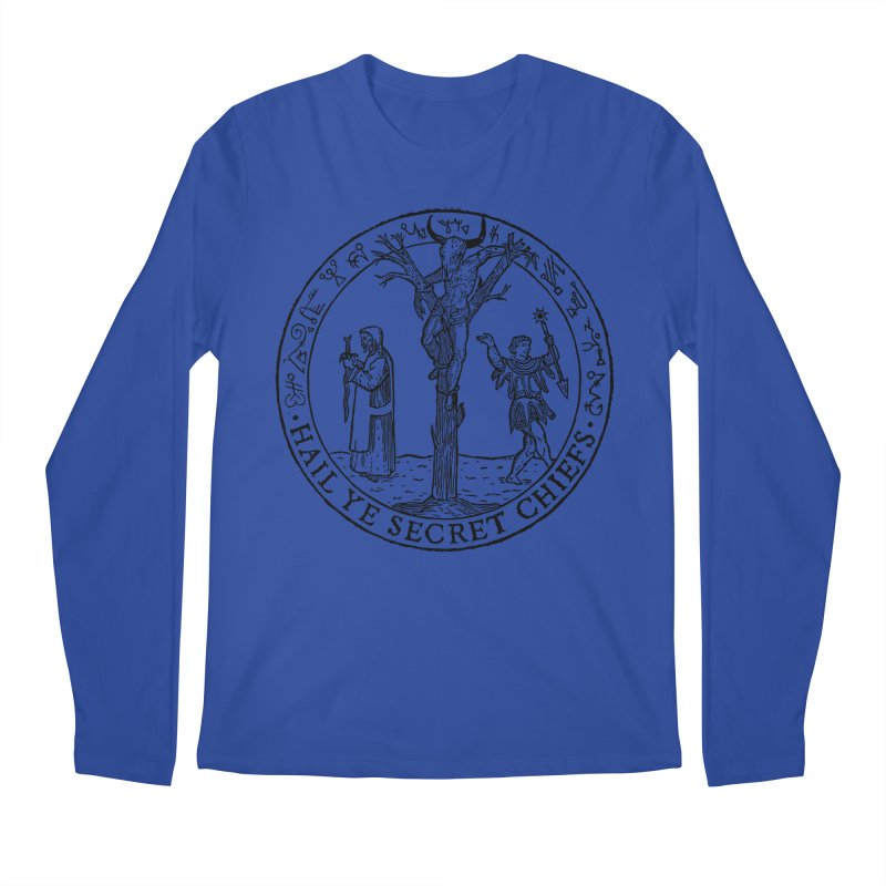 The Oracle Tree Men's Regular Longsleeve T-Shirt by The Corey Press