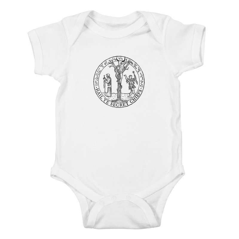 The Oracle Tree Kids Baby Bodysuit by The Corey Press