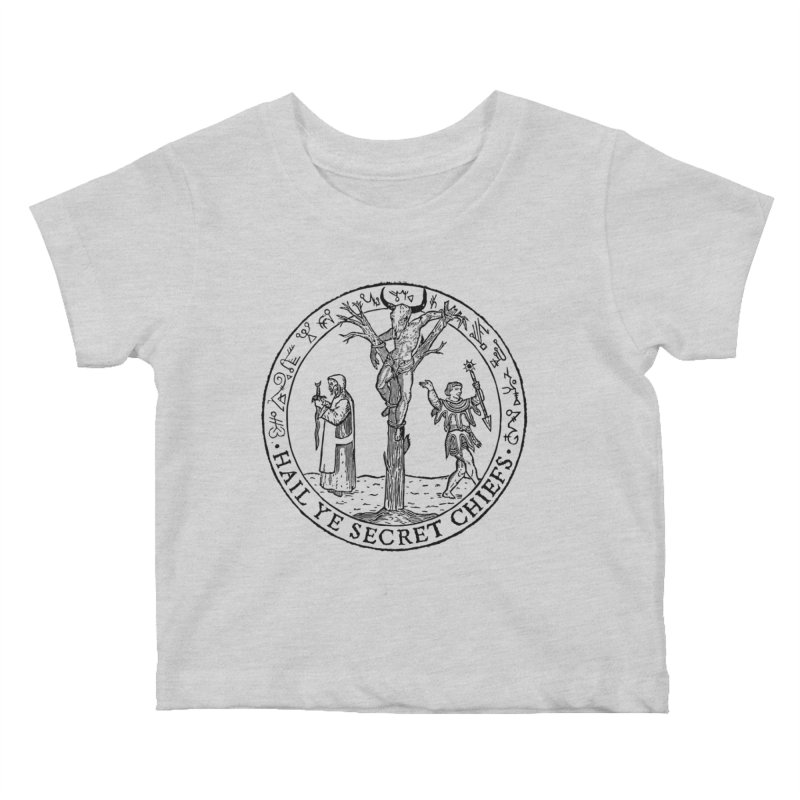 The Oracle Tree Kids Baby T-Shirt by The Corey Press