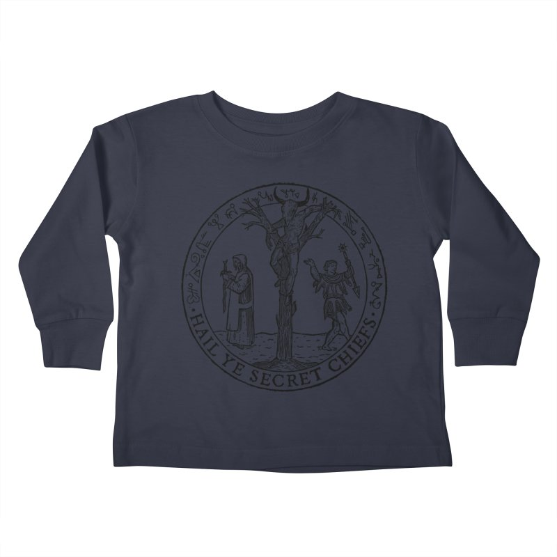 The Oracle Tree Kids Toddler Longsleeve T-Shirt by The Corey Press