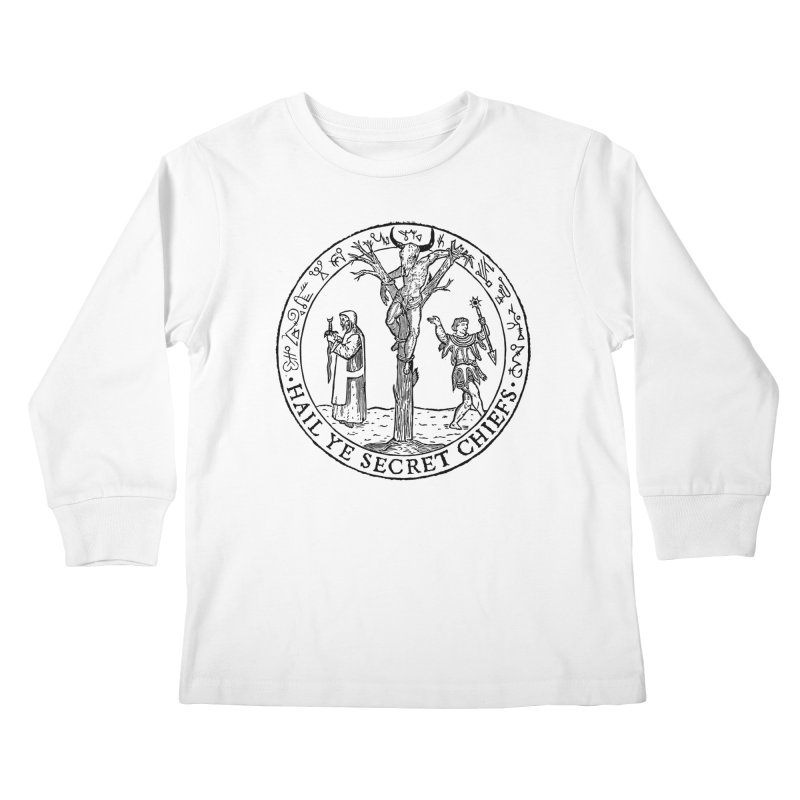 The Oracle Tree Kids Longsleeve T-Shirt by The Corey Press