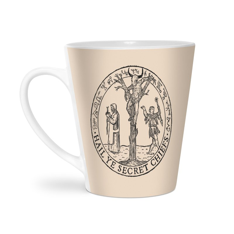 The Oracle Tree Accessories Latte Mug by The Corey Press