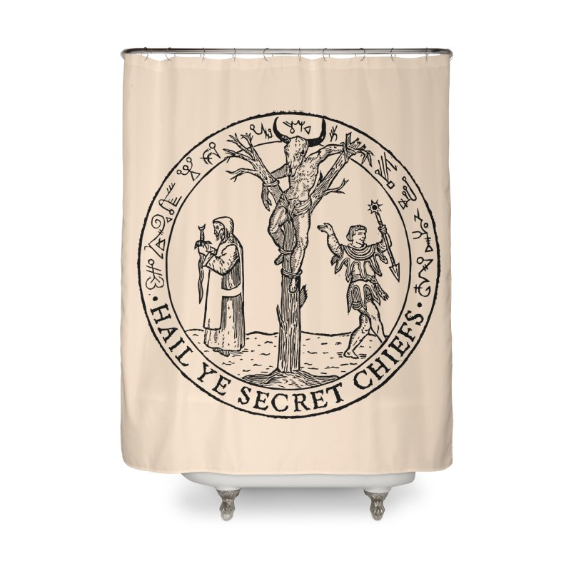 The Oracle Tree Home Shower Curtain by The Corey Press