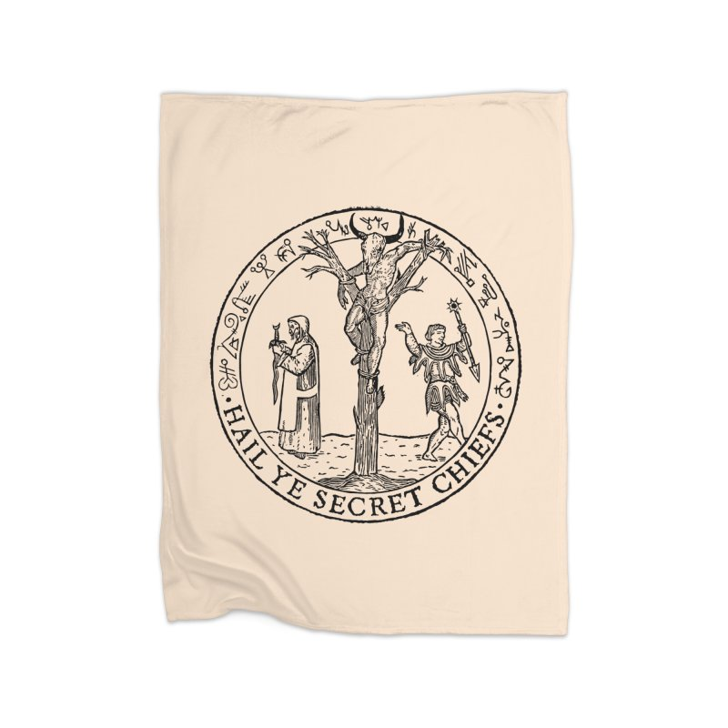 The Oracle Tree Home Fleece Blanket Blanket by The Corey Press