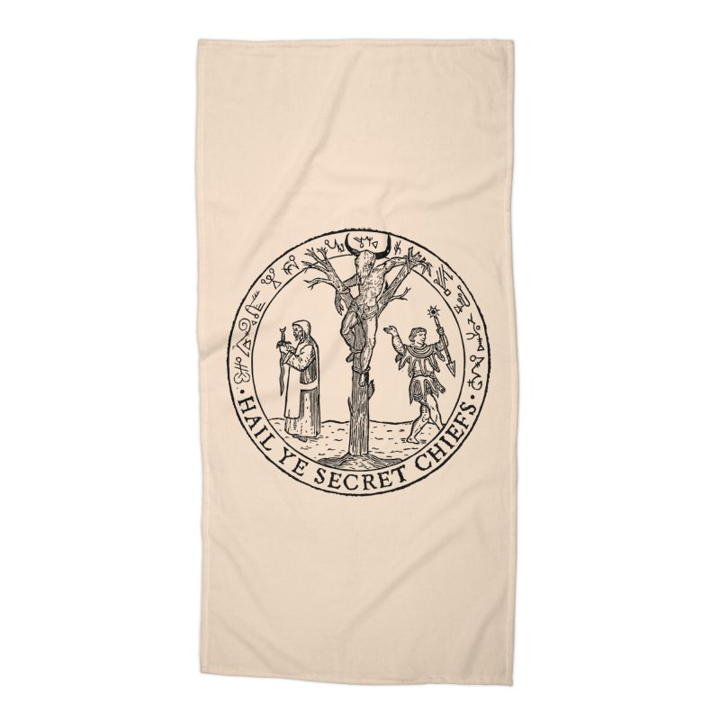 The Oracle Tree Accessories Beach Towel by The Corey Press