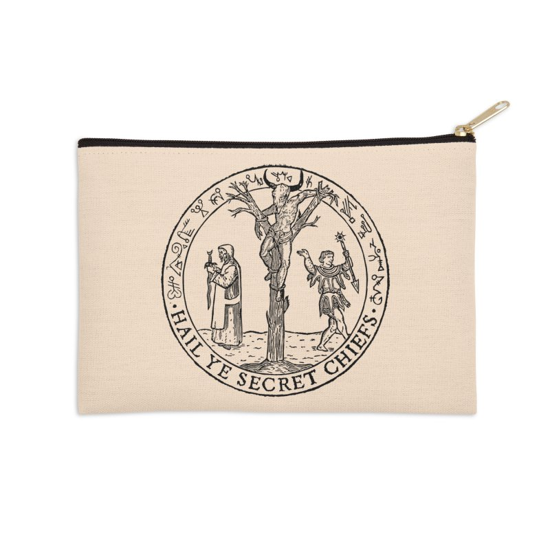 The Oracle Tree Accessories Zip Pouch by The Corey Press