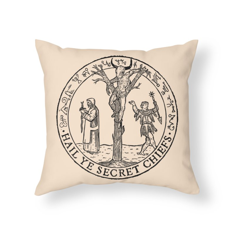 The Oracle Tree Home Throw Pillow by The Corey Press