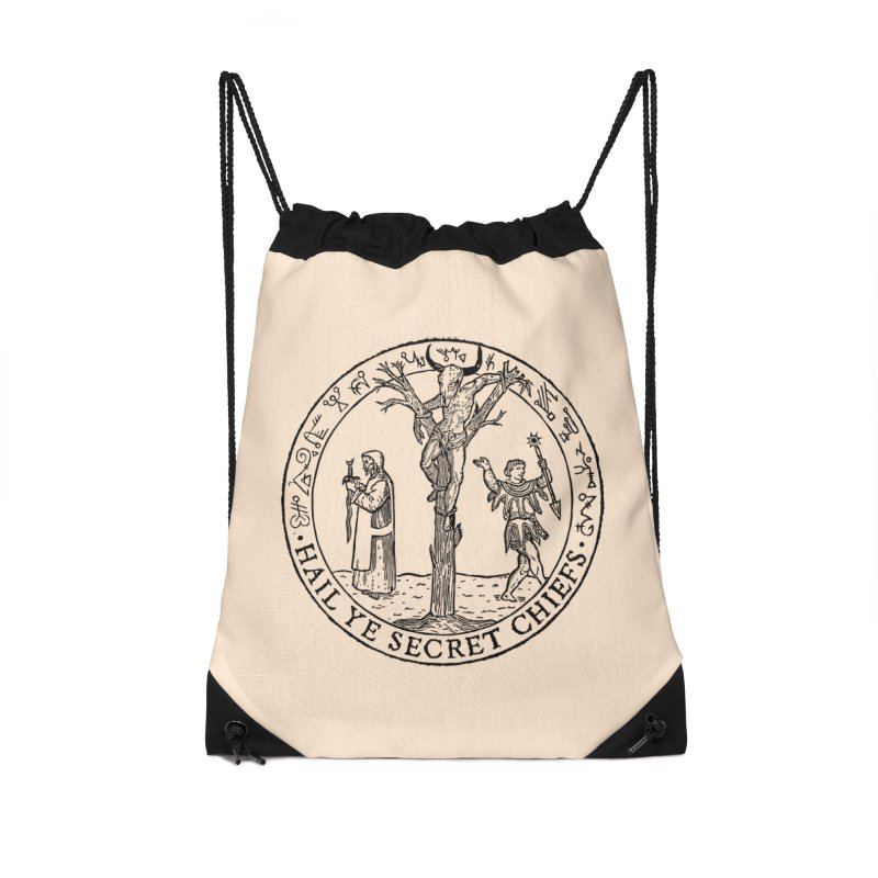 The Oracle Tree Accessories Drawstring Bag Bag by The Corey Press