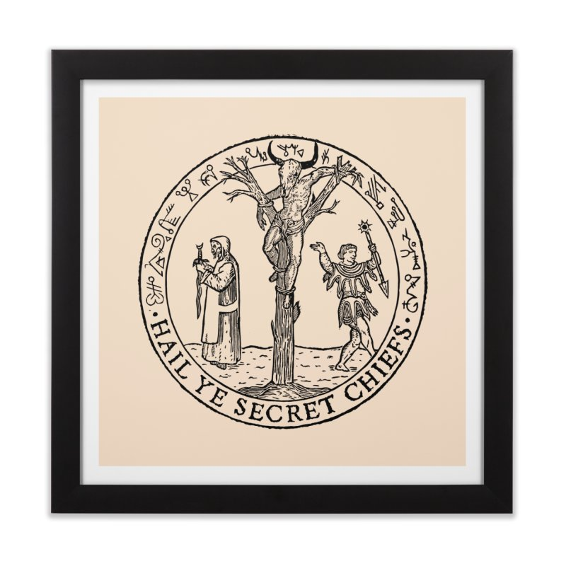 The Oracle Tree Home Framed Fine Art Print by The Corey Press