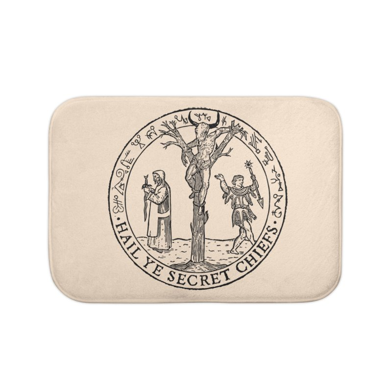 The Oracle Tree Home Bath Mat by The Corey Press
