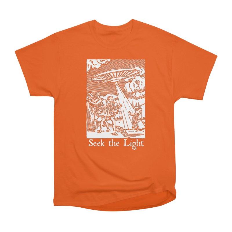 Seek the Light Women's T-Shirt by The Corey Press