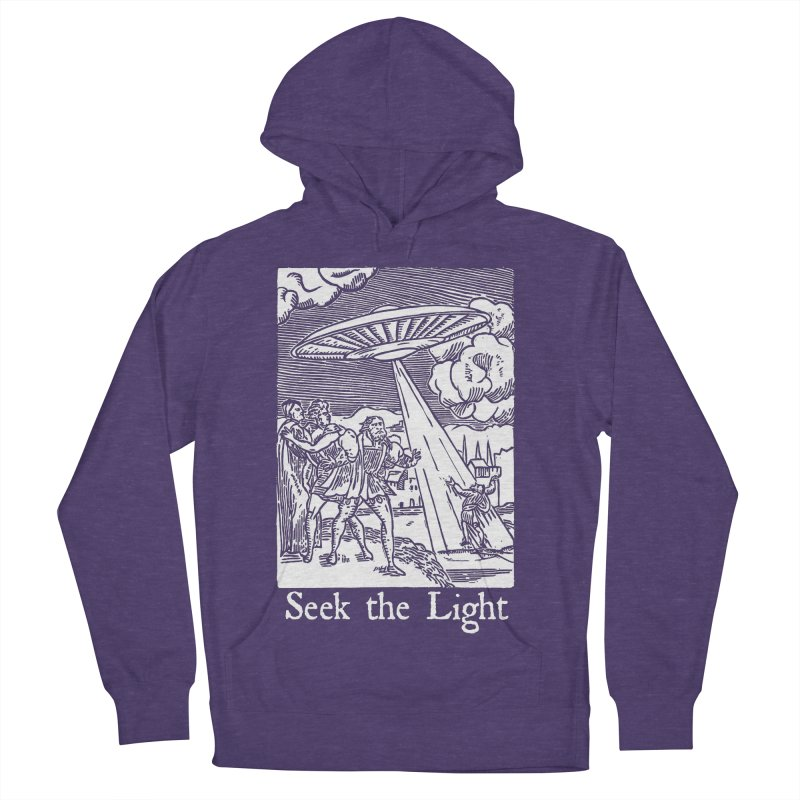 Seek the Light Women's French Terry Pullover Hoody by The Corey Press