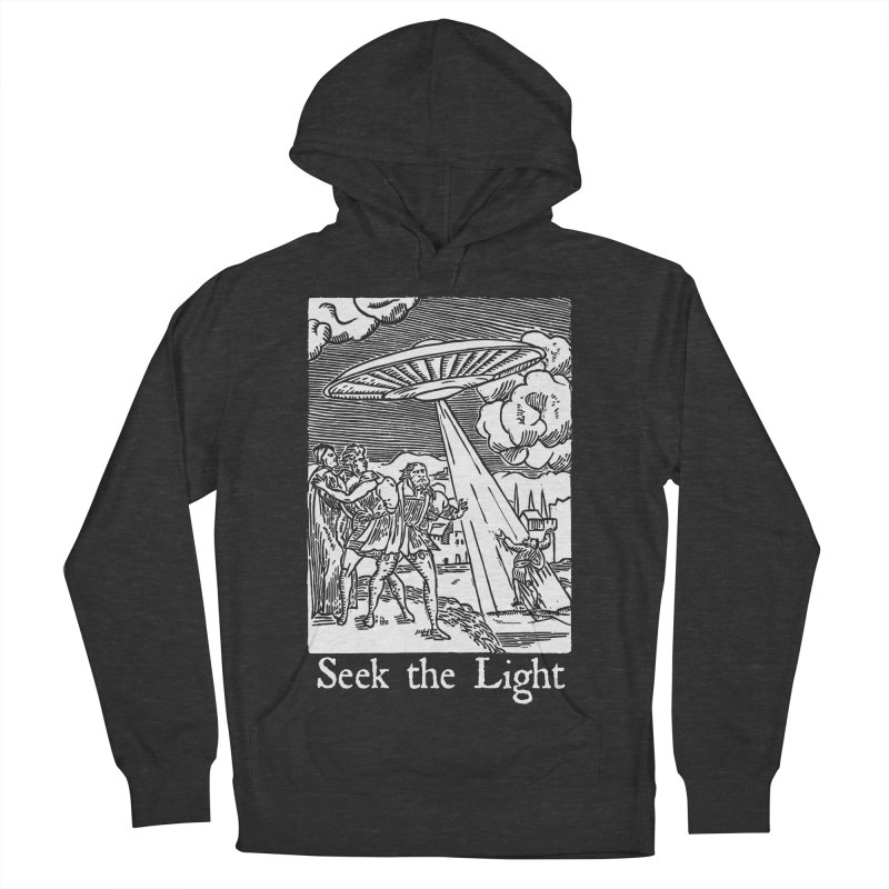 Seek the Light Men's French Terry Pullover Hoody by The Corey Press