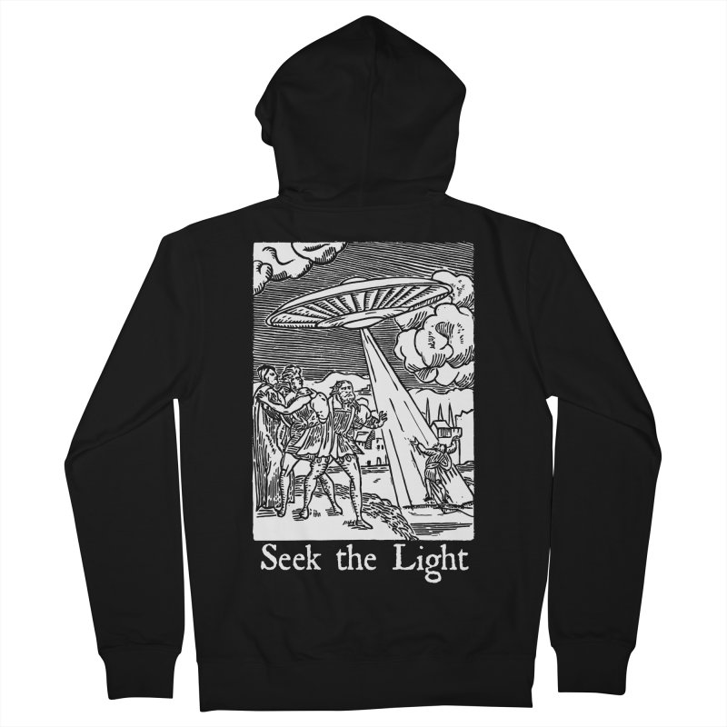 Seek the Light Men's French Terry Zip-Up Hoody by The Corey Press