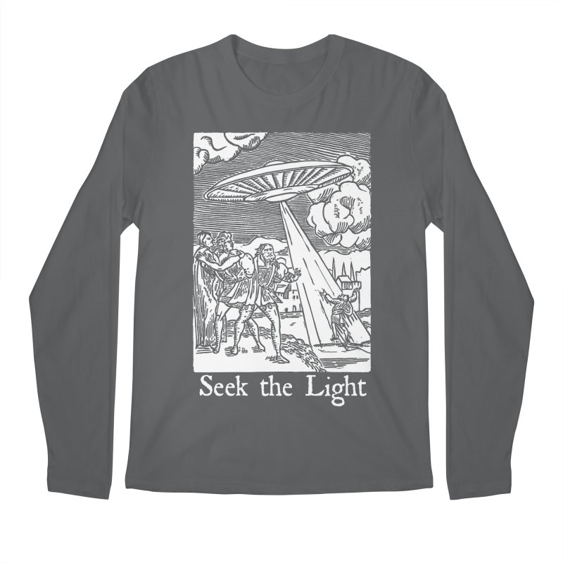 Seek the Light Men's Regular Longsleeve T-Shirt by The Corey Press