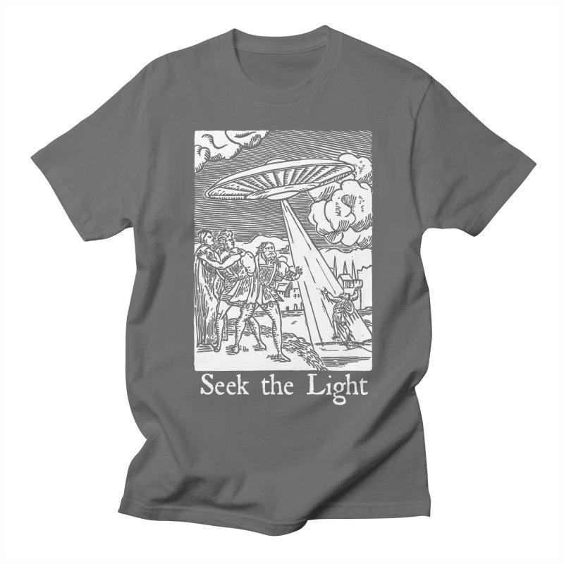 Seek the Light Men's T-Shirt by The Corey Press