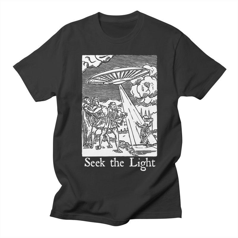 Seek the Light Men's Regular T-Shirt by The Corey Press