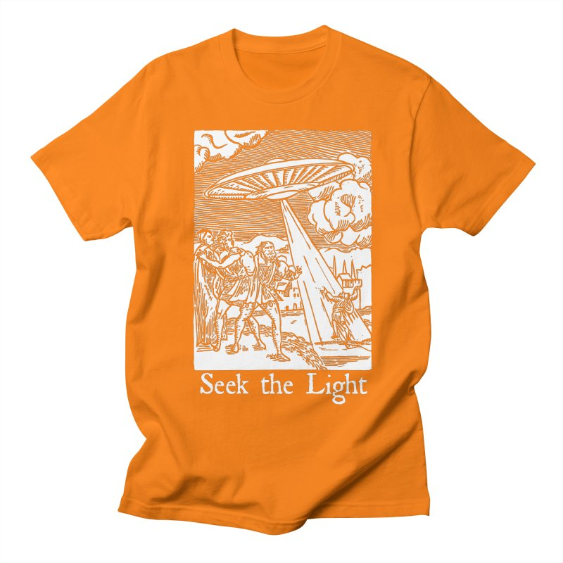 Seek the Light Women's Regular Unisex T-Shirt by The Corey Press