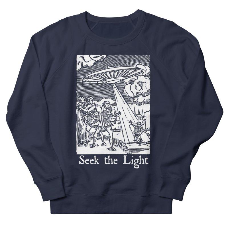 Seek the Light Women's French Terry Sweatshirt by The Corey Press