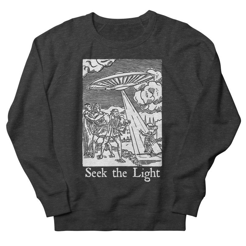 Seek the Light Men's French Terry Sweatshirt by The Corey Press
