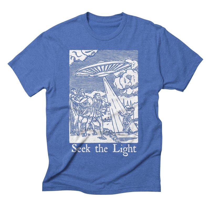 Seek the Light Men's Triblend T-Shirt by The Corey Press