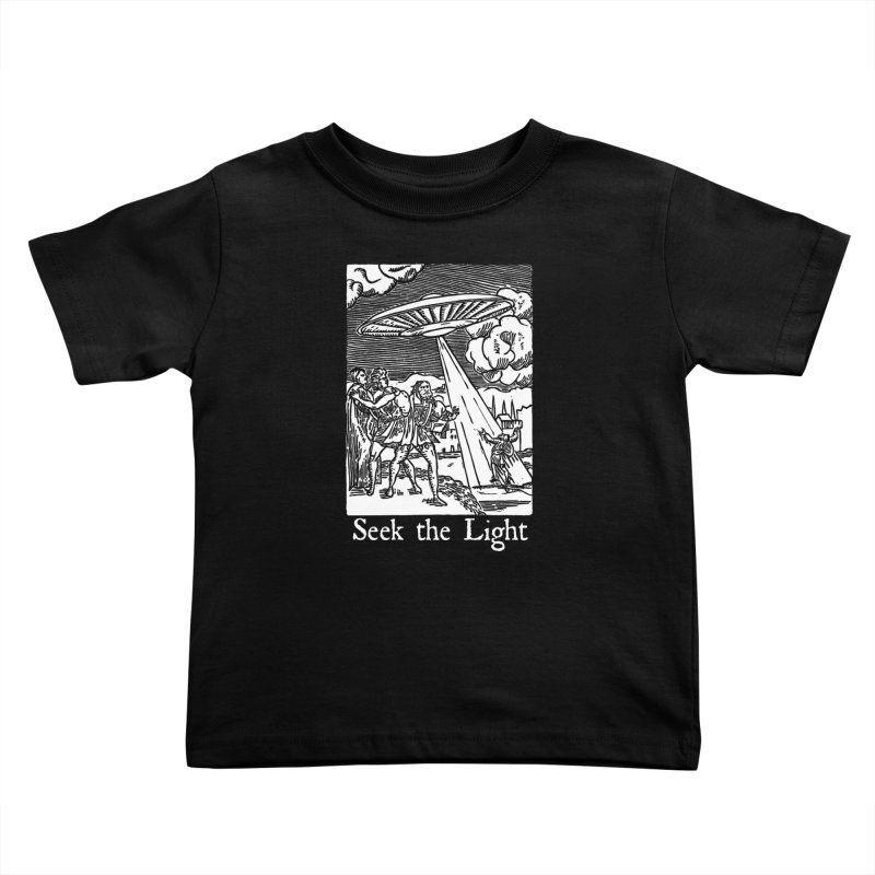 Seek the Light Kids Toddler T-Shirt by The Corey Press