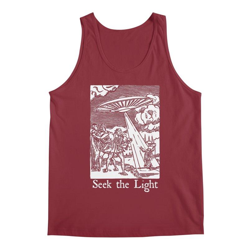 Seek the Light Men's Regular Tank by The Corey Press