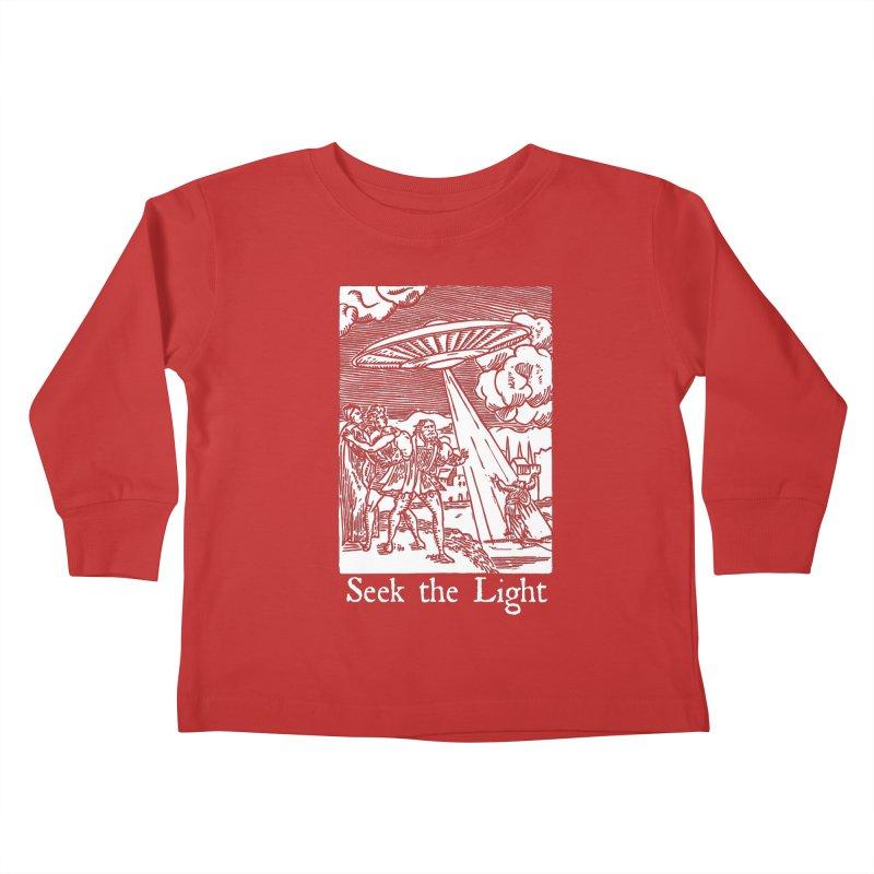Seek the Light Kids Toddler Longsleeve T-Shirt by The Corey Press