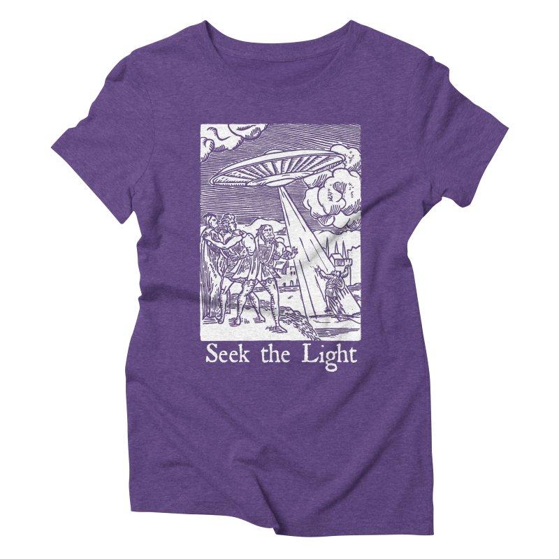 Seek the Light Women's Triblend T-Shirt by The Corey Press