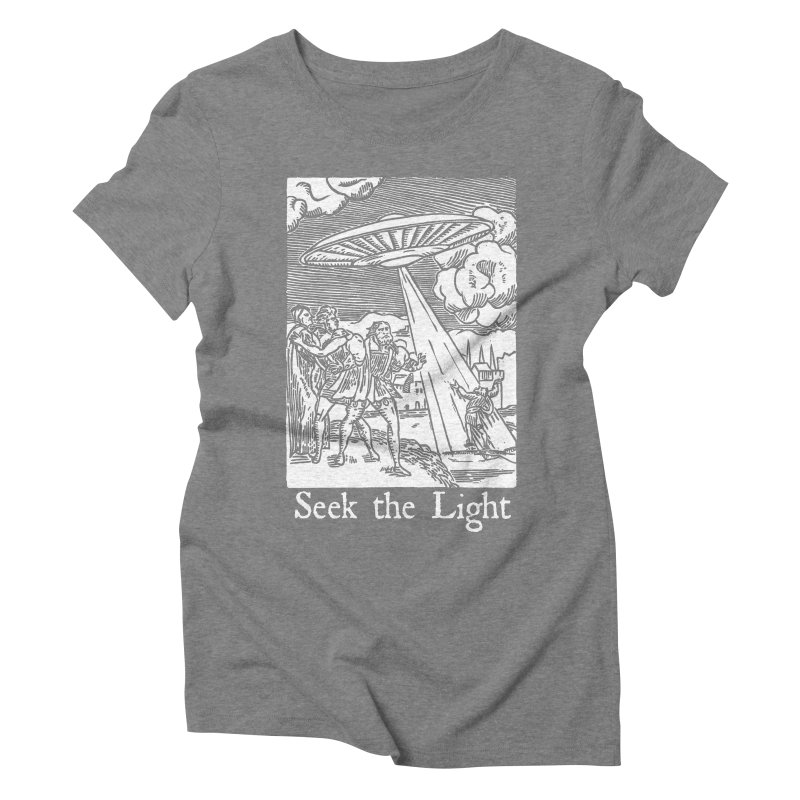 Seek the Light Women's Triblend T-Shirt by The Corey Press