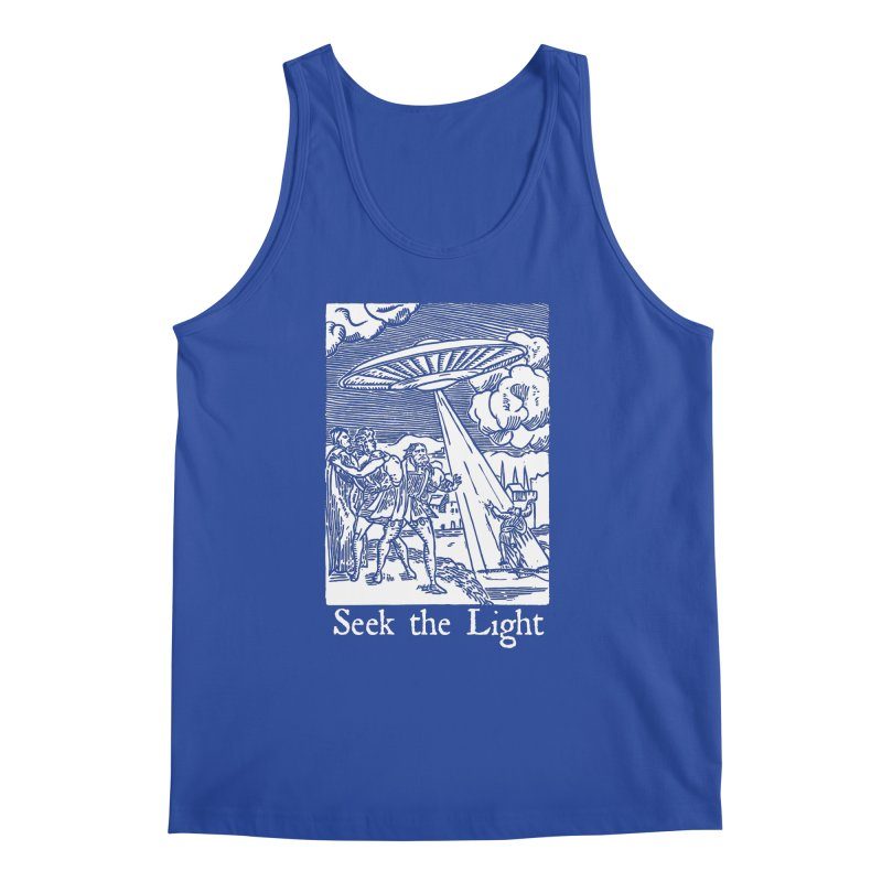Seek the Light Men's Regular Tank by The Corey Press
