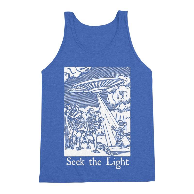 Seek the Light Men's Triblend Tank by The Corey Press