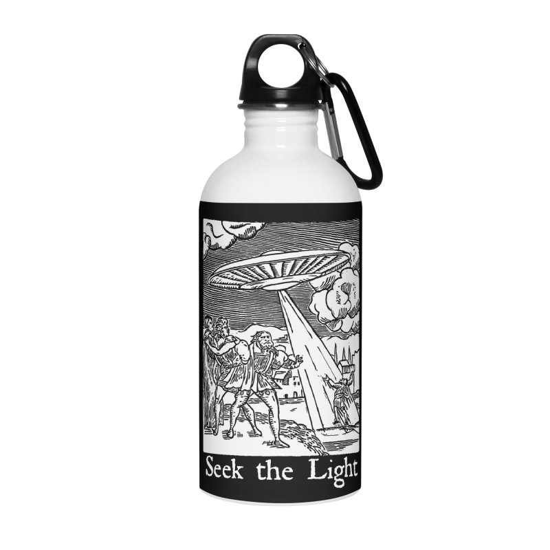 Seek the Light Accessories Water Bottle by The Corey Press