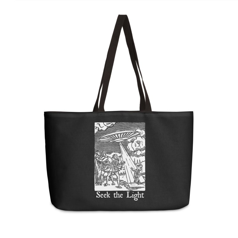 Seek the Light Accessories Weekender Bag Bag by The Corey Press