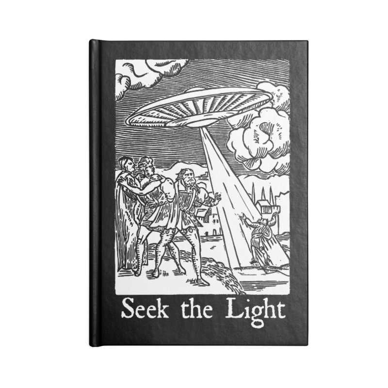 Seek the Light Accessories Lined Journal Notebook by The Corey Press