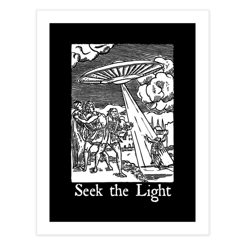 Seek the Light Home Fine Art Print by The Corey Press