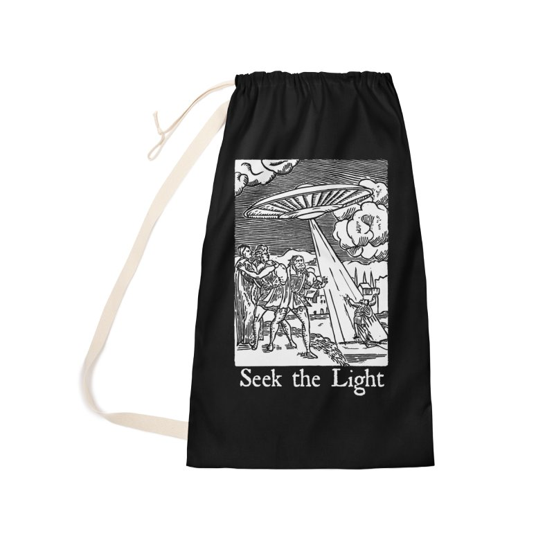 Seek the Light Accessories Laundry Bag Bag by The Corey Press