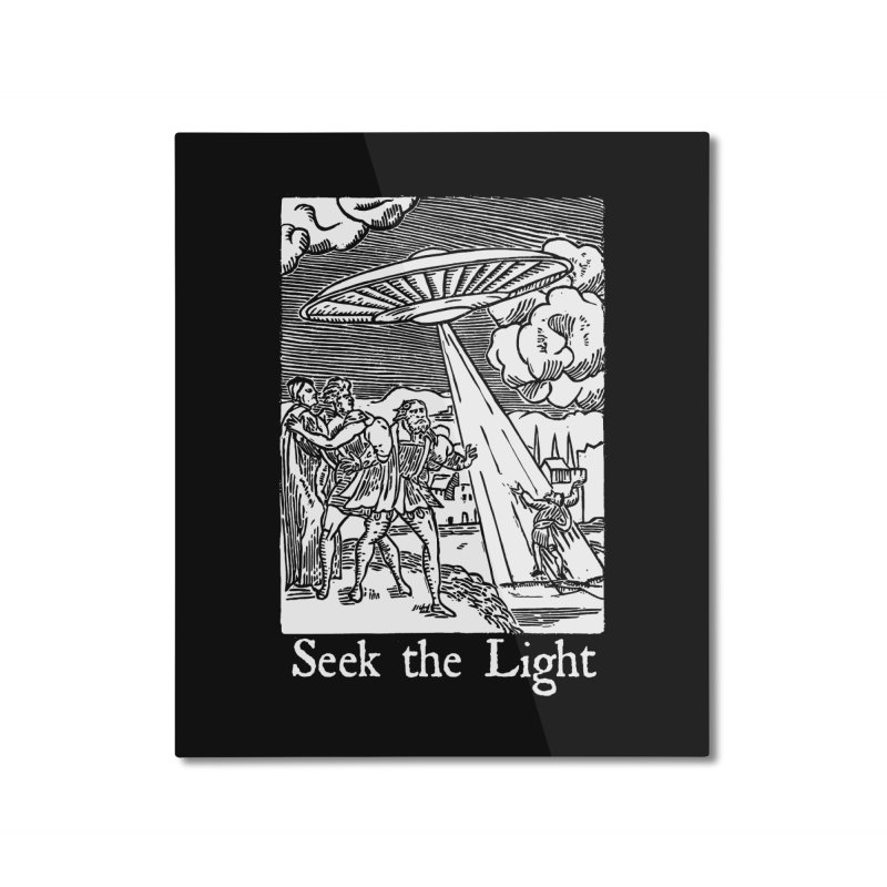 Seek the Light Home Mounted Aluminum Print by The Corey Press