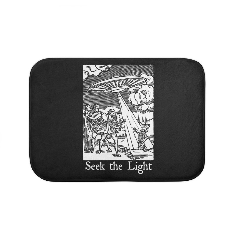 Seek the Light Home Bath Mat by The Corey Press