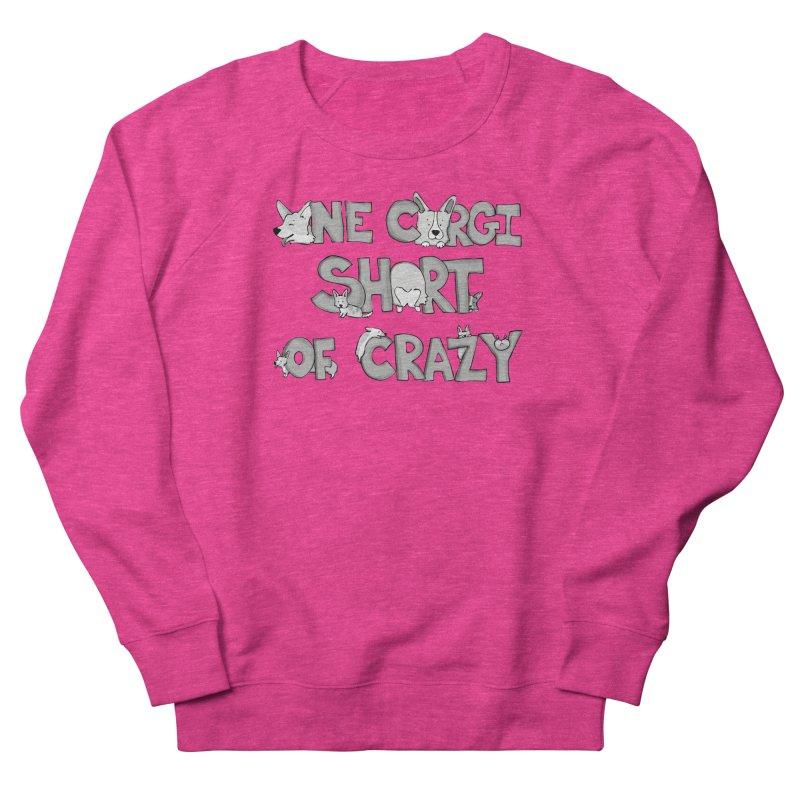 One Corgi Short of Crazy Men's Sweatshirt by Corgi Tales Books