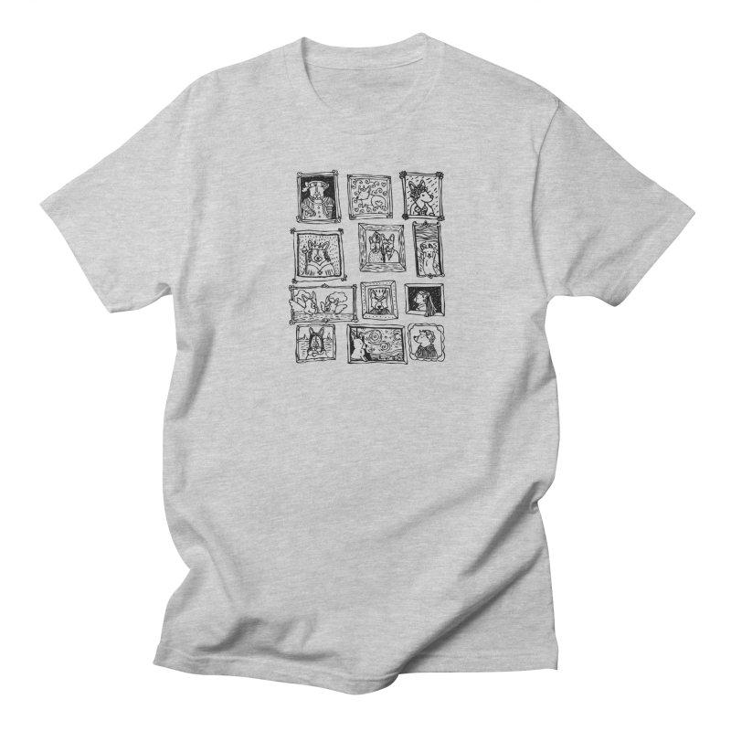 Corgi Portraits Women's Unisex T-Shirt by Corgi Tales Books