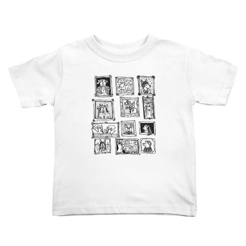 Corgi Portraits Kids Toddler T-Shirt by Corgi Tales Books
