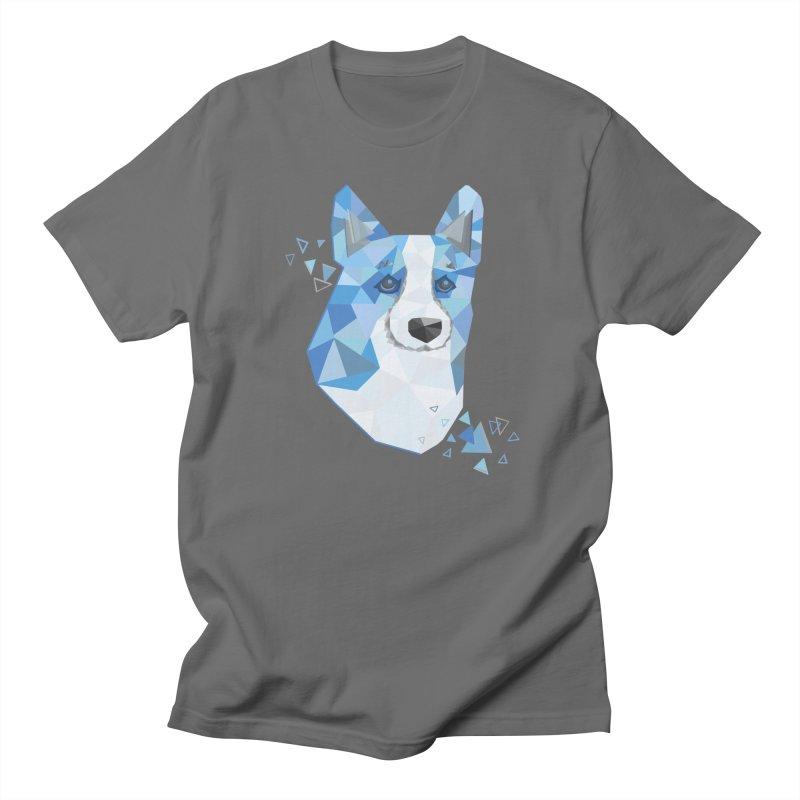 Geometric Corgi Women's T-Shirt by Corgi Tales Books