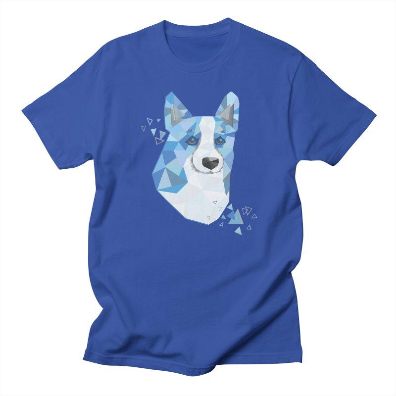Geometric Corgi Women's Unisex T-Shirt by Corgi Tales Books