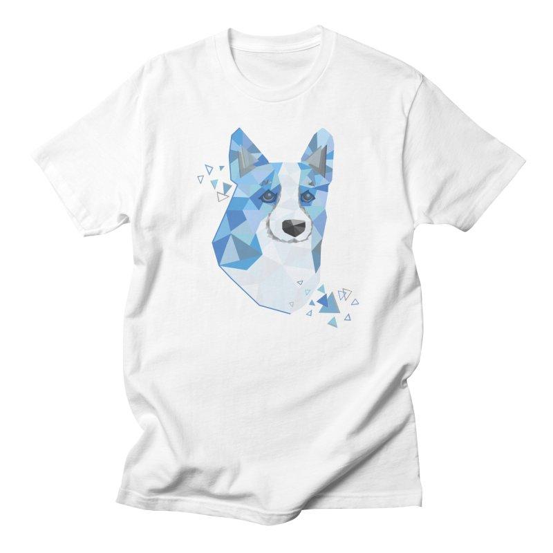 Geometric Corgi Women's Regular Unisex T-Shirt by Corgi Tales Books