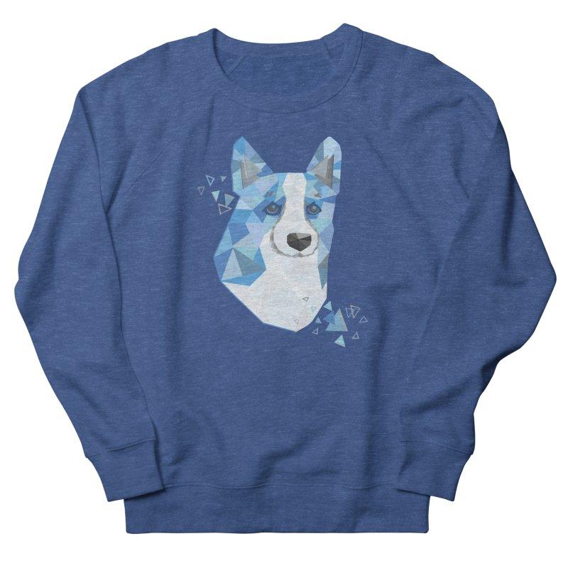 Geometric Corgi Women's Sweatshirt by Corgi Tales Books